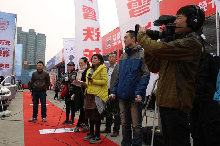 新乡广电车展