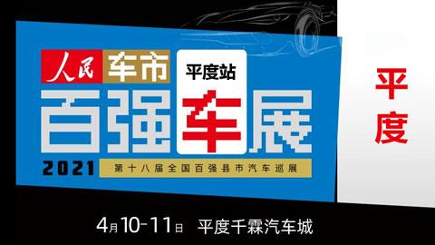 2021第十八届全国百强县汽车巡展平度站