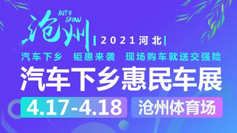 2021河北沧州汽车下乡惠民车展