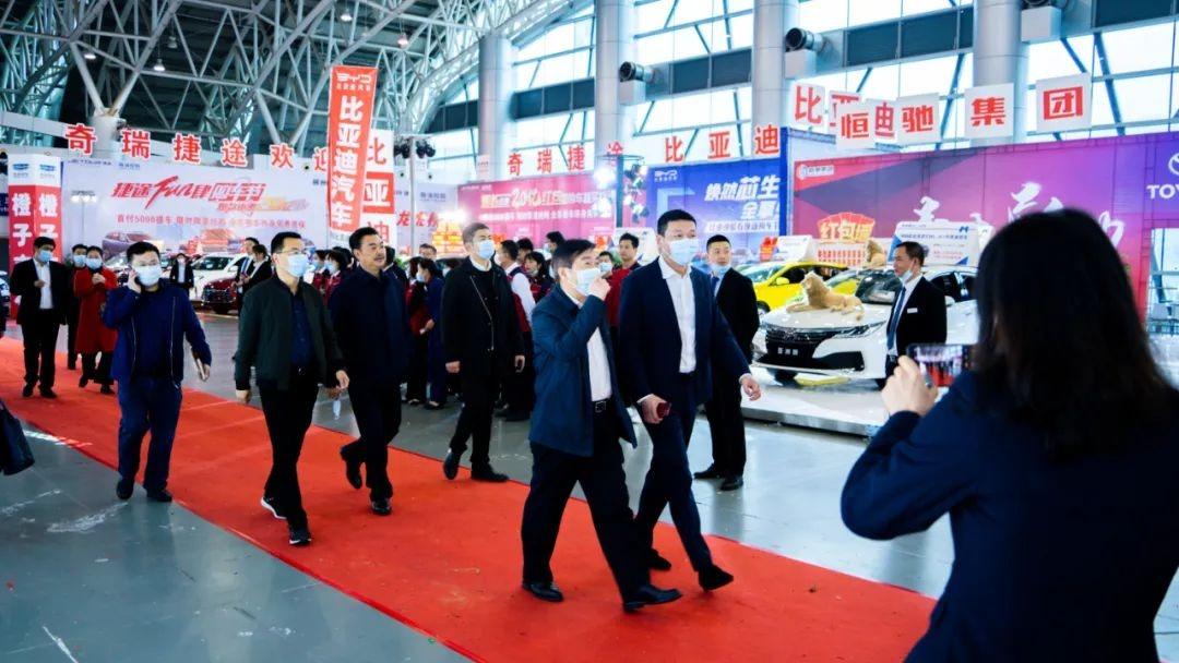 郴州新年首场车展