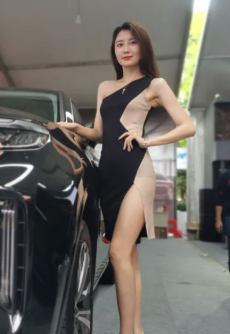 2021萍鄉市第十屆春季汽車展開幕,車模小姐姐閃亮登場