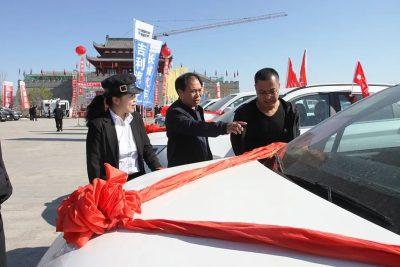2021喀左县举办春季汽车展销会