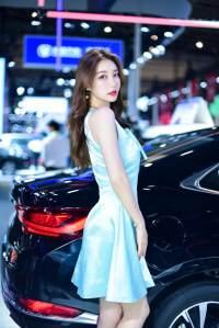 东莞国际车展开幕,你想看的车展靓丽车模都在这里