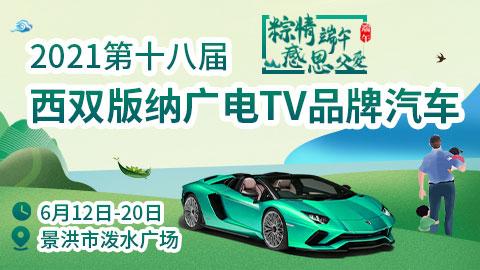 2021第十八屆西雙版納廣電TV品牌汽車博覽會