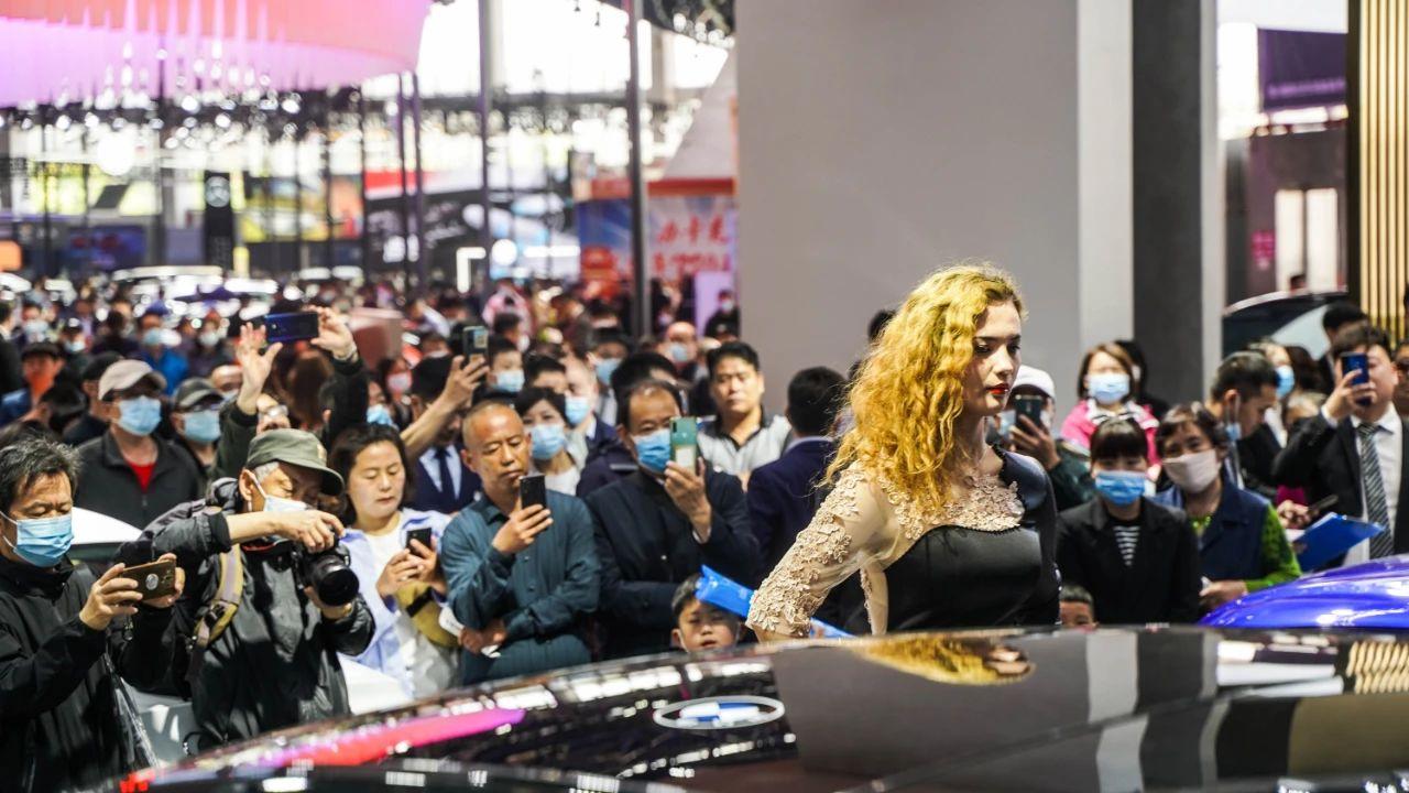 2021徐州淮海汽车节春季展开幕,60家厂家布展美仑美奂