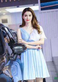 2021第十三届呼和浩特国际车展超高颜值车模,惊艳全场