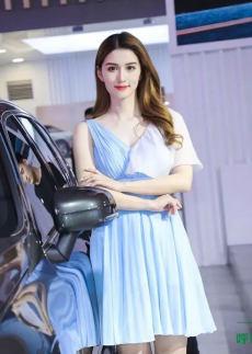 2021第十三屆呼和浩特國際車展超高顏值車模,驚艷全場