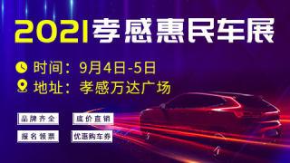 2021孝感惠民车展