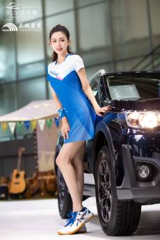 2021第24屆哈爾濱國際車展開幕,美女車模精彩實拍