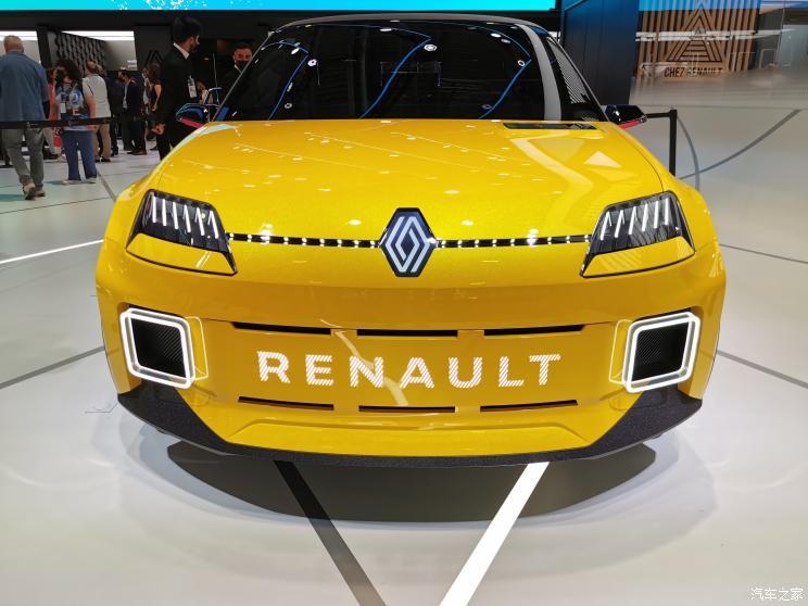 慕尼黑车展 雷诺5电动概念车