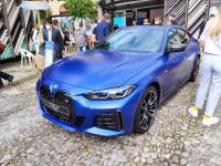 2021慕尼黑车展:宝马i4 M50实车亮相