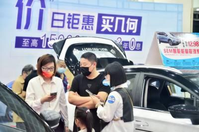 2021濟南國慶購車節火熱開幕!黃金周市民開啟逛展模式,沖鴨!