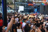 東莞國際車展看車氛圍爆棚!車模超高顏值,驚呼全場!