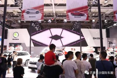2021芒果長沙國際車展完美閉幕!明年再見